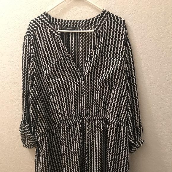 Apt. 9 Dresses | Apt9 Black And White Dress